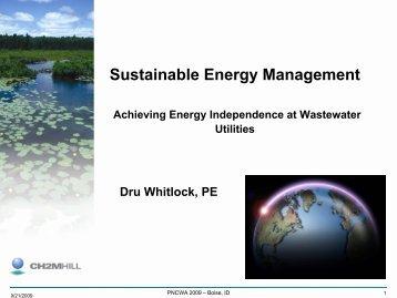 Sustainable Energy Management Achieving - pncwa