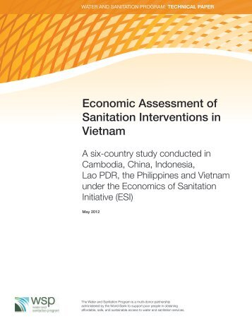 Economic Assessment of Sanitation Interventions in Vietnam - WSP
