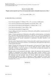 Decreto 14 ottobre 2004 - Archivio Storico CNIPA