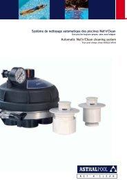 Système de nettoyage automatique des piscines Net'n ... - AstralPool