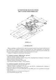 Décharge le catalogue des réducteurs manuels - Neptun Gears