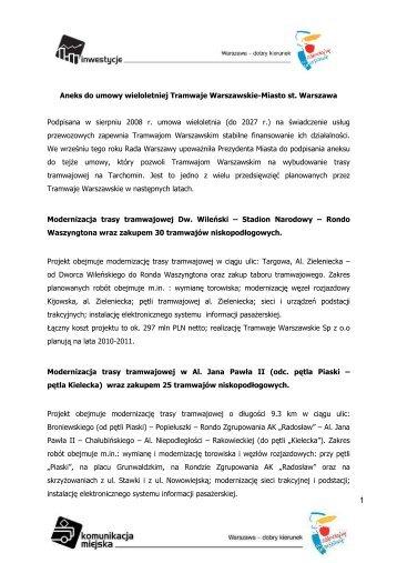 20718Podpisanie aneksu do Umowy Wieloletniej.pdf - Warszawa