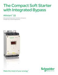 Altistart 22 the Compact Soft Starter with ... - Schneider Electric