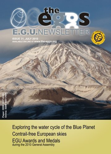 Exploring the water cycle of the Blue Planet Contrail-free European ...