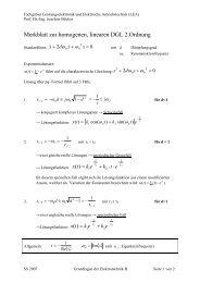 [ ] τ - Fachgebiet Leistungselektronik und Elektrische Antriebstechnik