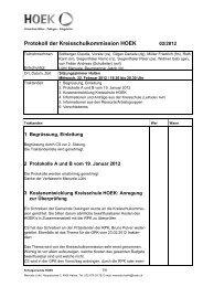 Protokoll 22.02.2012