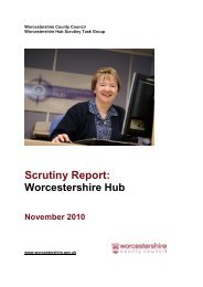 Worcestershire County Council - Worcestershire Hub