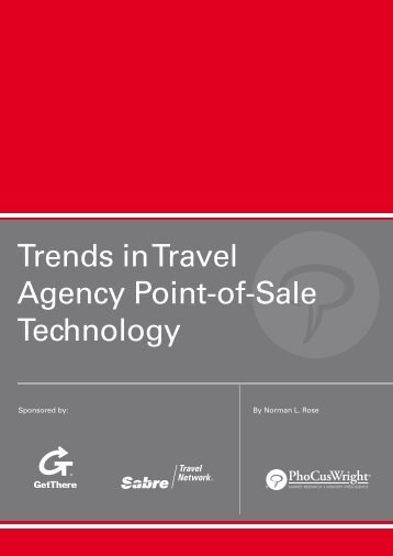 Trends in Travel Agency Point-of-Sale Technology - Sabre Travel ...