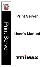 How to setup Edimax Print Server (Wired Series)?