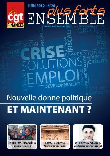 JUIN 2012 - N°20 - CGT Finances