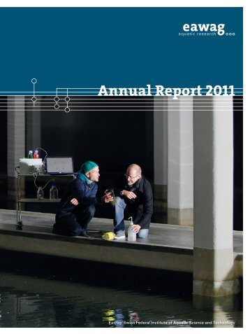 Eawag Annual Report 2011