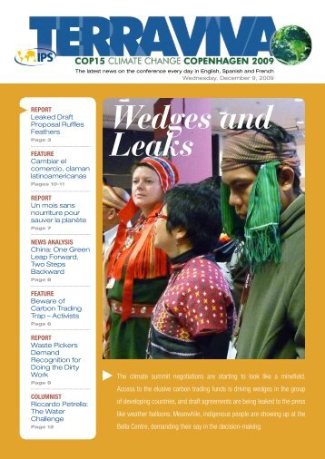 Wedges and Leaks - IPS Inter Press Service