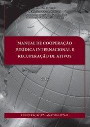 Manual Cooperação Jurídica Internacional Penal - Tribunal ...
