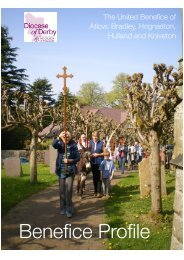Benefice Profile 2 - the Diocese of Derby