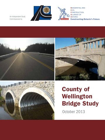 County of Wellington Bridge Study - rccao