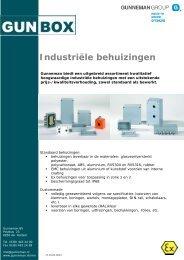 Industriële behuizingen - Gunneman