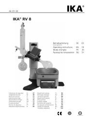 IKA® RV 8