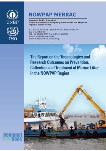 Report on Technologies and Research Outcomes ... - nowpap dinrac