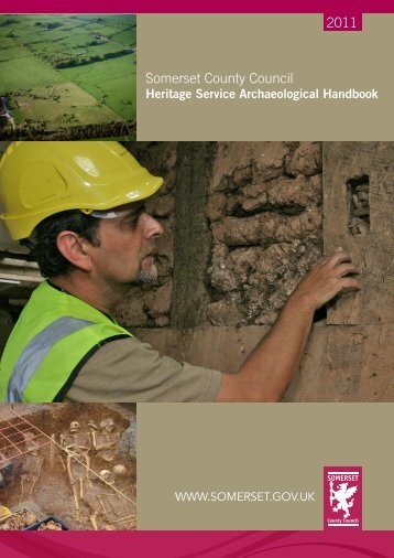 Heritage Service Archaeological Handbook - Somerset County ...