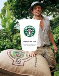 Beyond the cup. - Starbucks