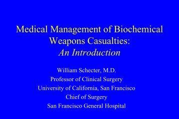Biochemical Weapons - San Francisco General Hospital & Trauma ...