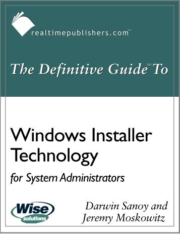The_Definitive_Guide_to_Windows_Installer_Technology - Eddie ...
