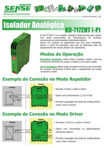 Isolador Analógico - Logo do Radar industrial
