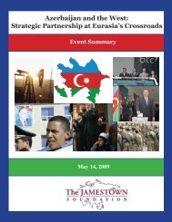 Azerbaijan and the West: Strategic Partnership at Eurasia's ...