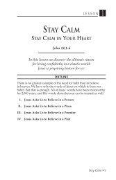STAY CALM - Dr. David Jeremiah