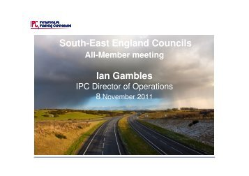 South-East England Councils Ian Gambles