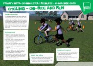 Cycling Challenge - School Games