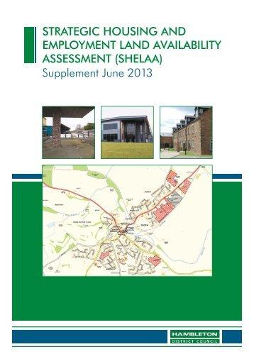Supplement June 2013 - Hambleton District Council