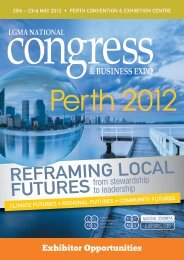 ExhiBitOr OppOrtuNitiEs - Local Government Managers Australia