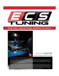 for Porsche 997 Turbo