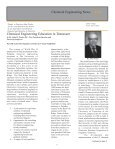 CHEMICAL ENGINEERING NEWS - College of Engineering - The ... - Page 5