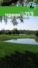 Termine zum Download - Golfclub Westerwald