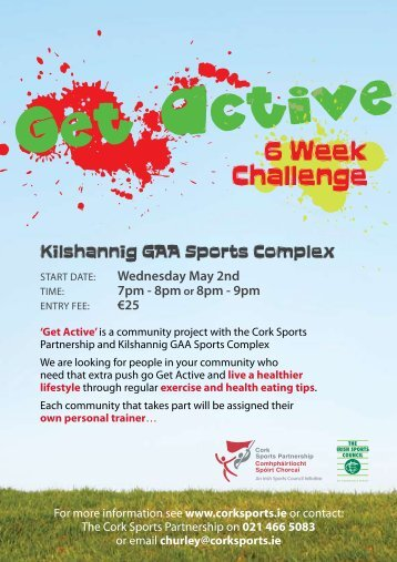 6 Week Challenge - Cork Sports Partnership