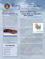 Contents Census 2010: our City needs your ... - City of Daly City