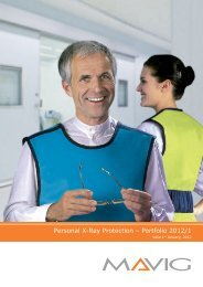Personal X-Ray Protection – Portfolio 2012/1 - WTEC