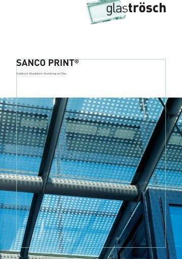 SANCO PRINT® - Ayinger Glaserei