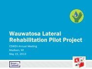 Wauwatosa Lateral Rehabilitation Pilot Project