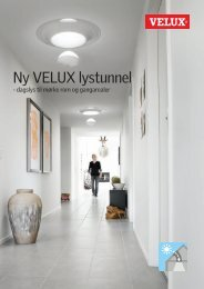 Ny VELUX lystunnel - Velux AS