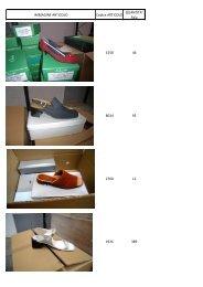 scarpe foto inventario 1 - Ingrosso abbigliamento