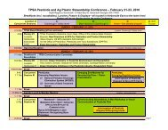 Conference Overview (PDF) - The Pesticide Stewardship Alliance ...