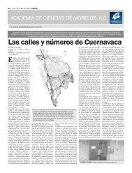 PERI 20 ABRIL pdf.indd - Academia de Ciencias de Morelos
