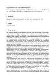 Abschlussbericht zum Forschungsprojekt 5.3005 Entwicklung ... - BiBB