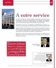 A votre service - Ordre des experts-comptables de Paris Ile-de-France