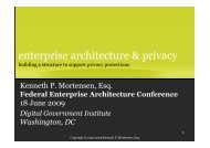 How Security and Architecture Can Work Together - Digital ...