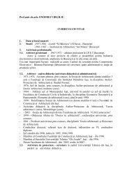 Prof.univ.dr.arh. ONOFREI VIRGILIU CURRICULUM ... - uefiscdi