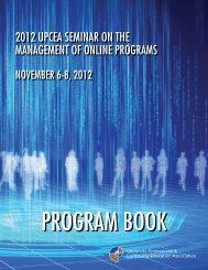 Download a PDF version - UPCEA